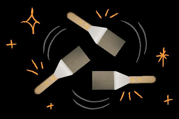food service spatula